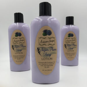 Sugar Plum Fairy Lotion - Artisan Soaps