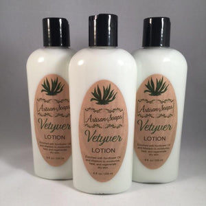 Vetyver Lotion - Artisan Soaps