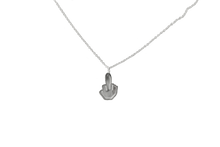Load image into Gallery viewer, Middle Finga Pendant Necklace