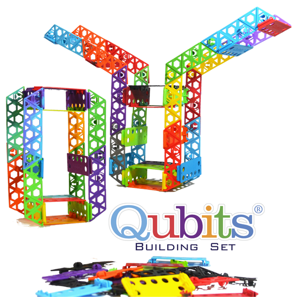 84 pcs Building Set - Qubits Toy, Qubits - Construction Toy, Qubits Toy - Qubits Toy, Qubits Toy - Qubits Construction Toy