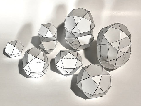 Qubits Toy Golden Polyhedra Lesson Plan