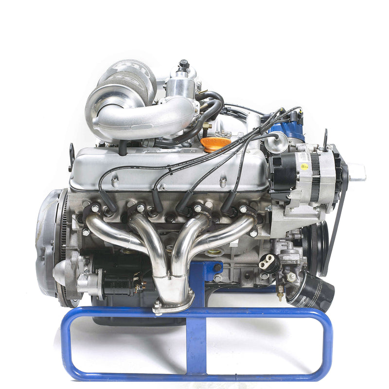 High Torque/​High Power V8 Carburettor Engines Side Profile