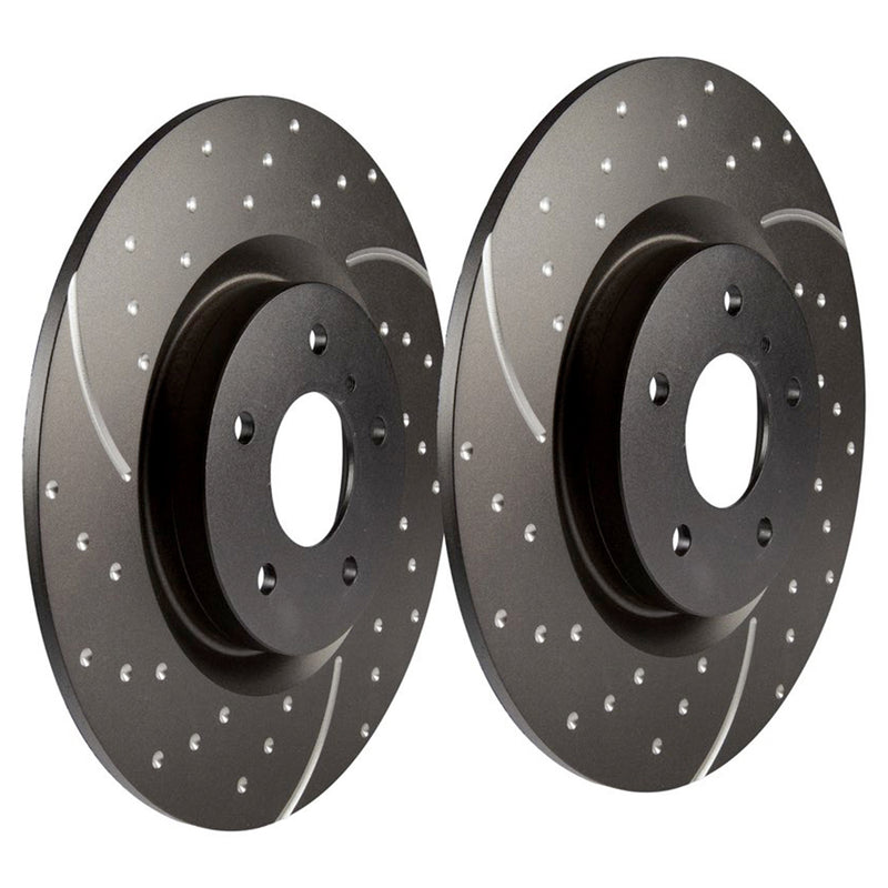 EBC Performance Brake Disc Rear Solid (Pair) - LR017953 / FTC1381