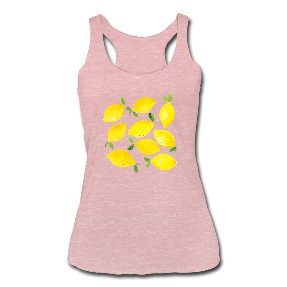 Lemons Tank - heather dusty rose