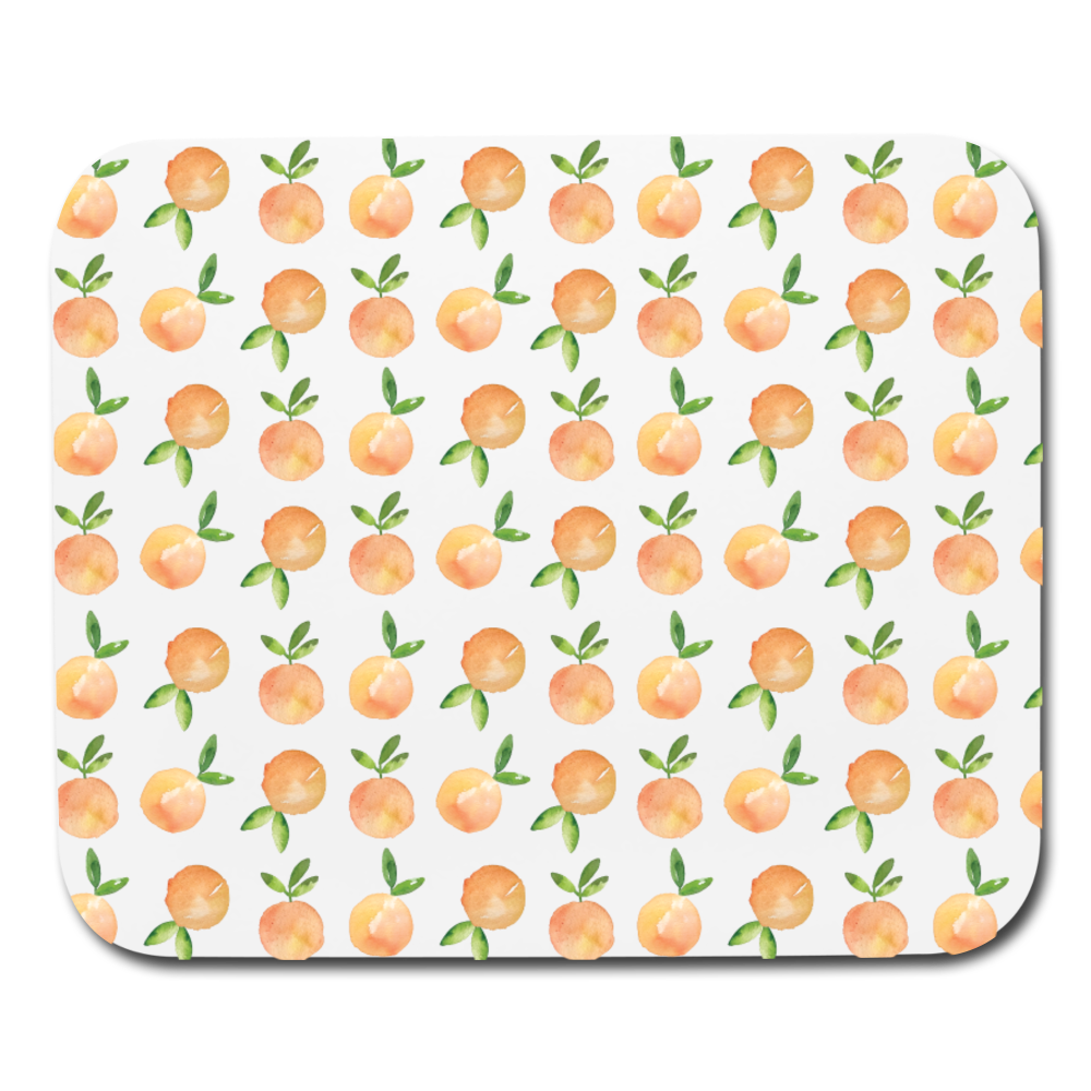 Oranges Mousepad - white