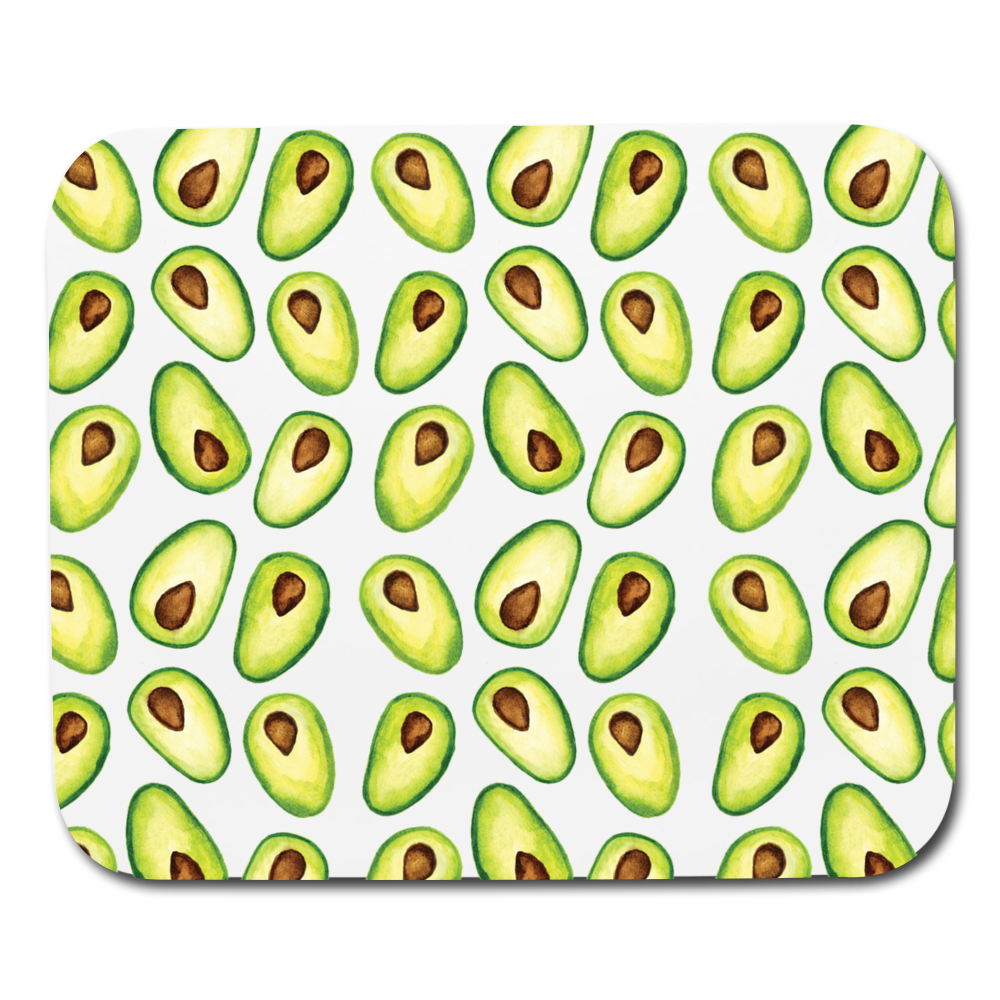 Avocado Mousepad - white