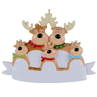 WorldWide Reindeer Family of 2 Ornament Christmas Decorations