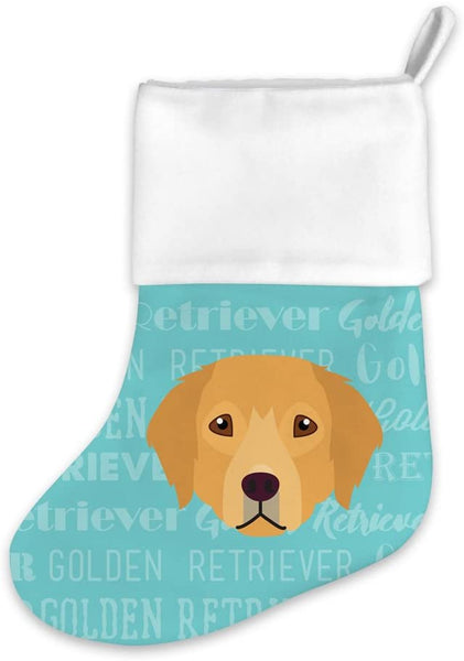 Mystic Sloth Adorable Dog Breed Design Christmas Holiday Stocking (Golden Retriever)