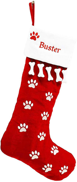 Pet Christmas Stocking Dog