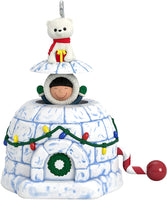 Hallmark Keepsake Christmas Ornament 2019 Year Dated Frosty Fun Decade Snowman
