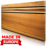 Cutting Board Wood Cutting Boards for Kitchen Chopping Board Wood Meat Cutting Board Log Cutting Board Handmade from Europe Original Presentation Serving Board New Crack free Design Cutting Board Wood