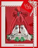Lenox 2018 Our 1st Christmas Doves Ornament