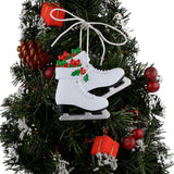 Girl's Ice Skating Shoes Skater Personalized Ornament Christmas Gifts