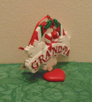 """GRANDPA"" Personalized Christmas Tree Ornament Holiday Gift"