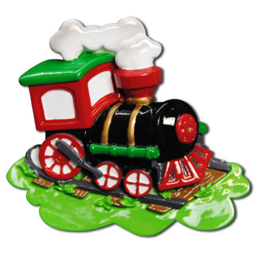 Choo Choo Train Personalized Christmas Tree Ornament