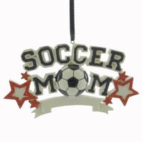 Sport Soccer Mom Personalized Christmas Tree Ornament