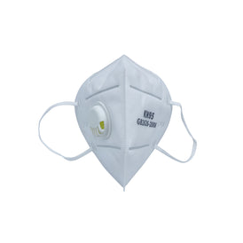 KN-95 Respirator Mask w/ air valve (5 pcs)