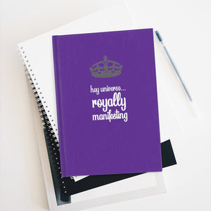 Royally Manifesting Journal