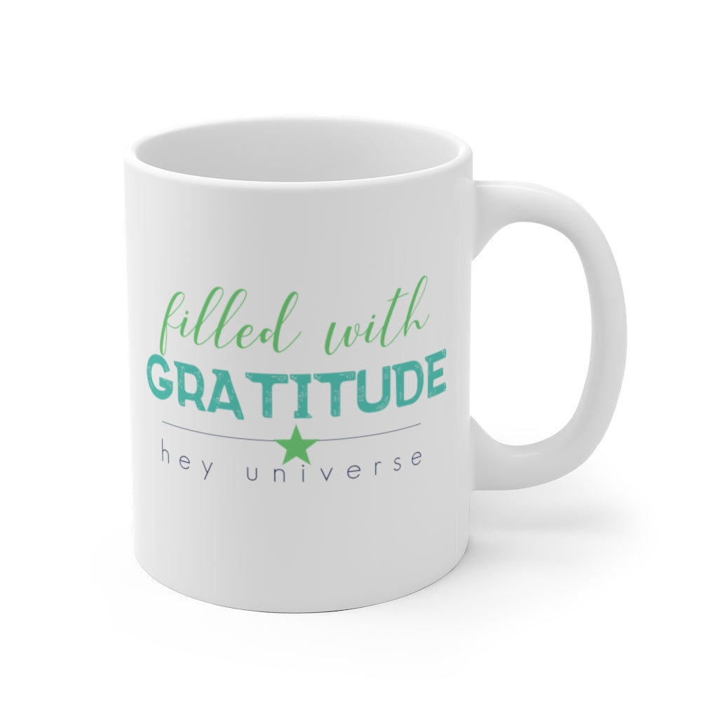Filled with Gratitude Mug