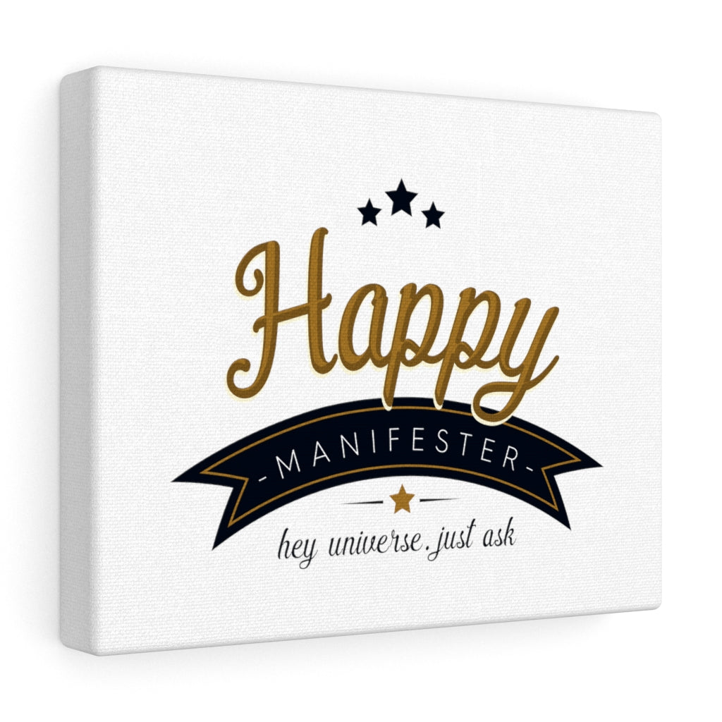 Happy Manifester Canvas