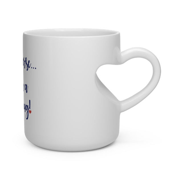 I am a Love Mug! Heart-Handle Mug