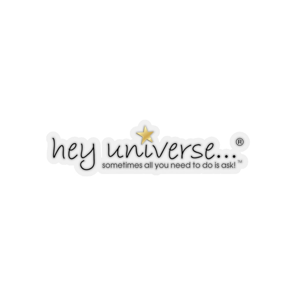 Hey Universe Logo Sticker
