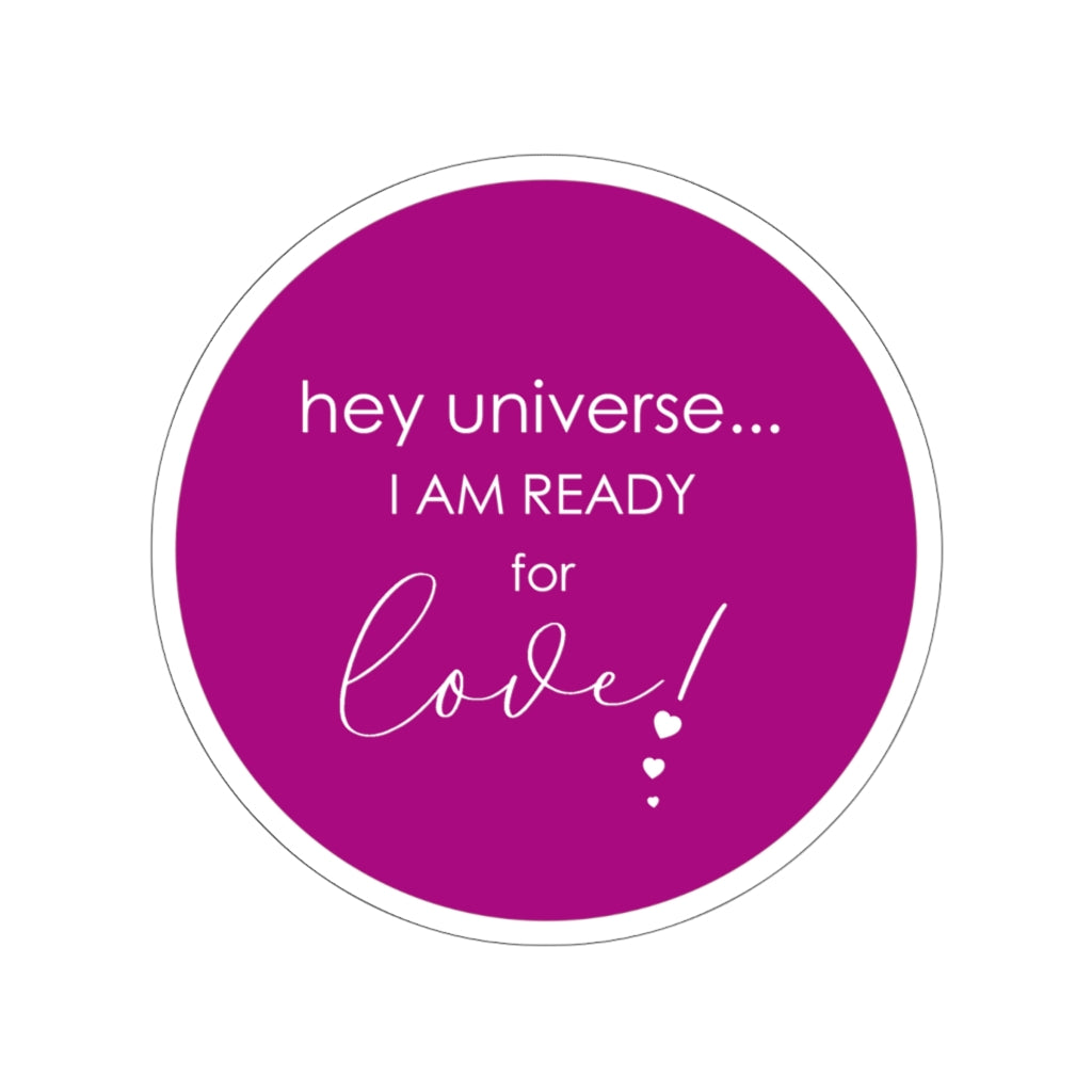 I am Ready for Love! Sticker