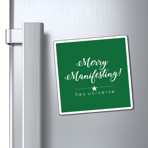 Merry Manifesting! Holiday Magnet