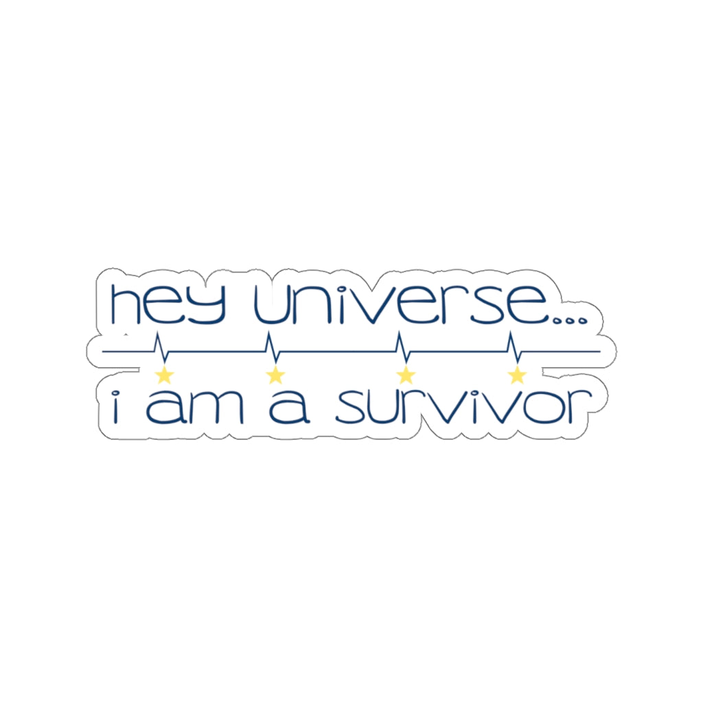 I am a Survivor Sticker