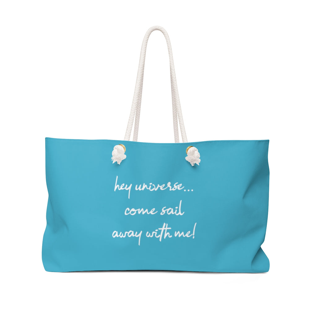 Come Sail Away With Me! Tote