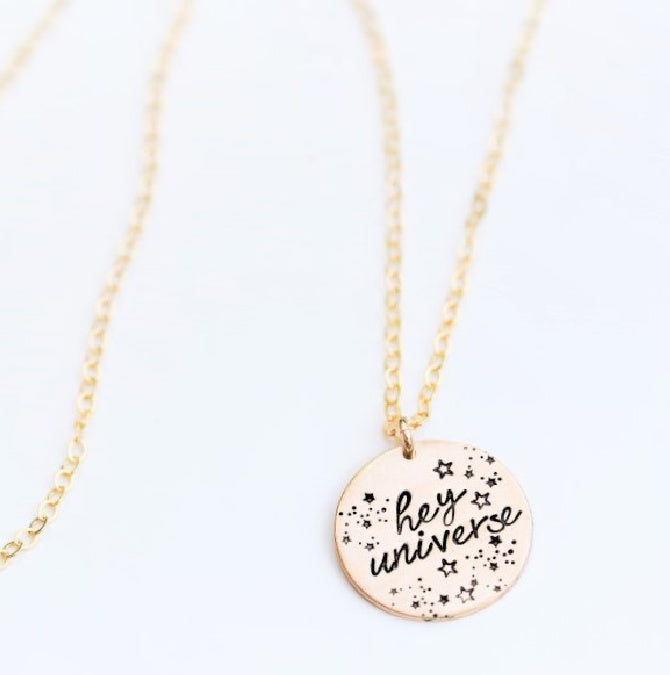 Starry Hey Universe Necklace