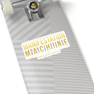 Manifestation Machine Sticker