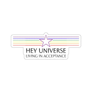 Living in Acceptance Sticker