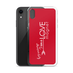 I am a Love Magnet Red iPhone Case