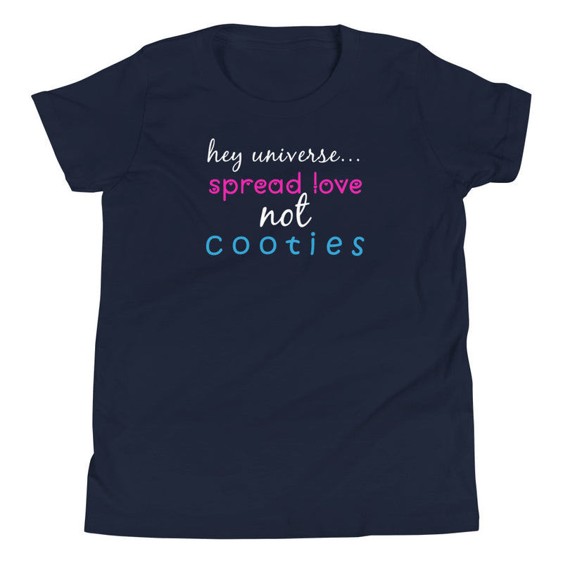 Spread Love Not Cooties Kid's Tee