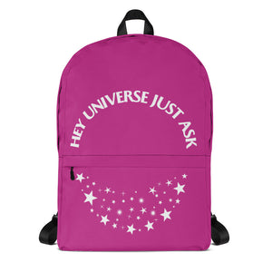 Hey Universe Just Ask Starry Backpack