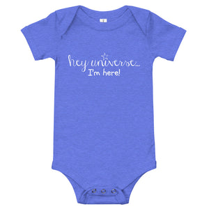 Infant's I'm Here! Onesie