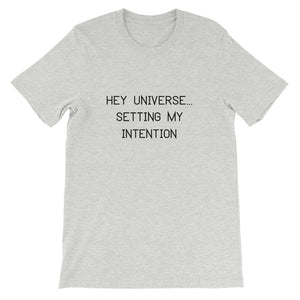 Men's Setting My Intention Declaration Tee