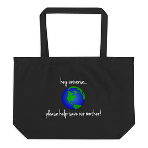 Please Help Save Our Mother! Canvas Tote