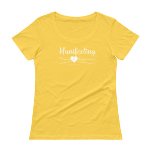 Women's Manifesting Peace, Love & Happiness Tee