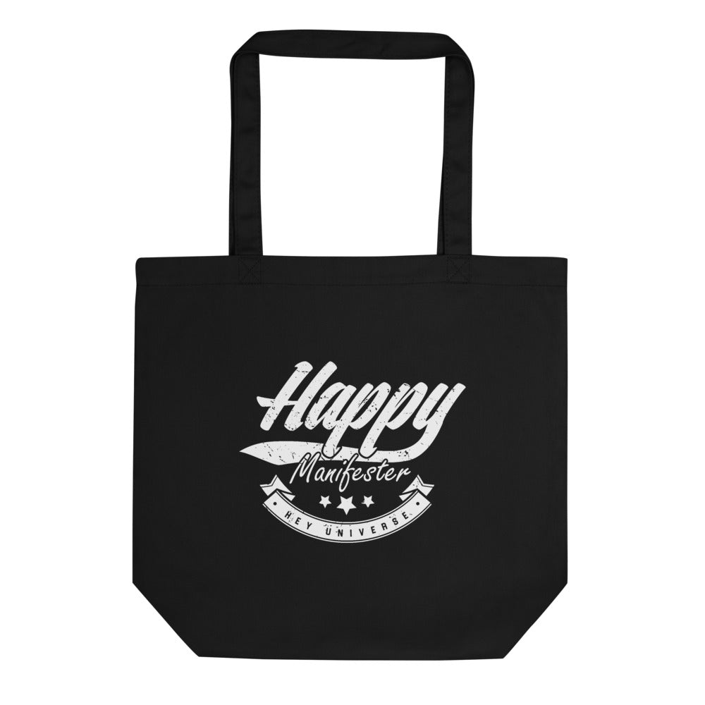Happy Manifester Canvas Eco Tote
