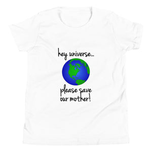 Kid's Please Save our Mother! Tee