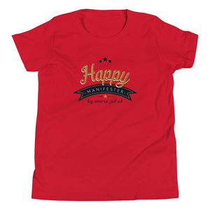 Kid's Happy Manifester Tee
