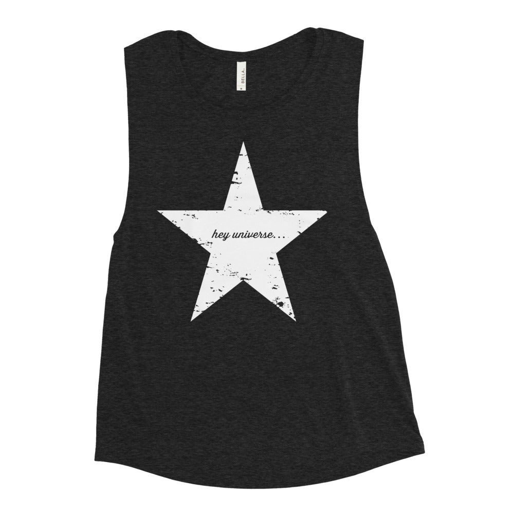 Women's Vintage Star Muscle Tank