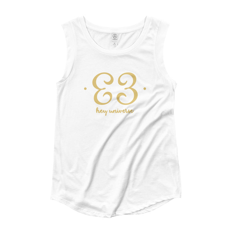 Women's Hey Universe Cap Sleeve Tee