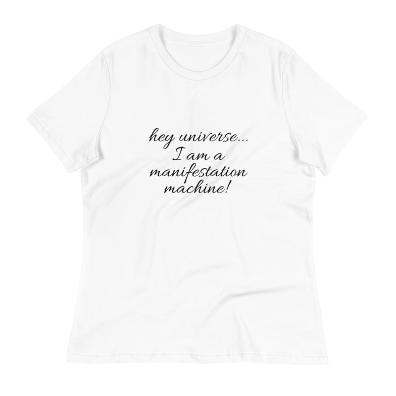 Women's I am a Manifestation Machine! Declaration Tee