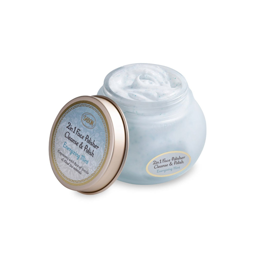 Face Polisher 2in1 - Energizing Mint - Sabon Singapore