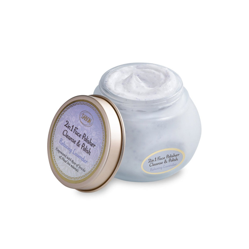 Face Polisher 2in1 - Relaxing Lavender - Sabon Singapore
