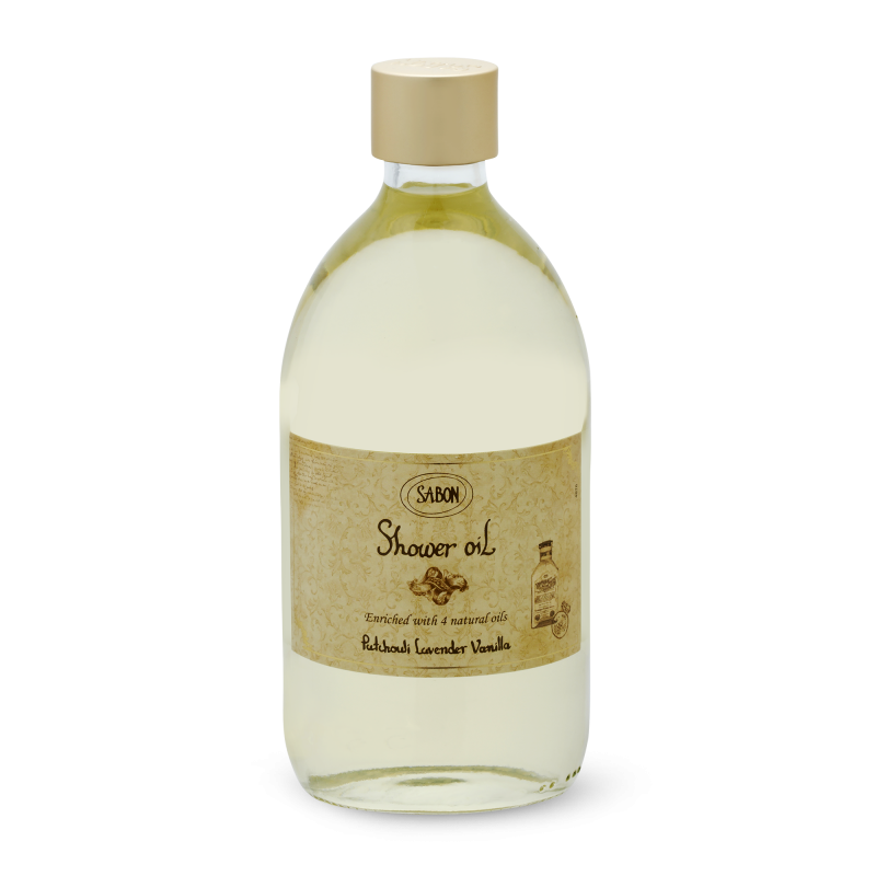 Shower Oil - Patchouli Lavender Vanilla - Sabon Singapore