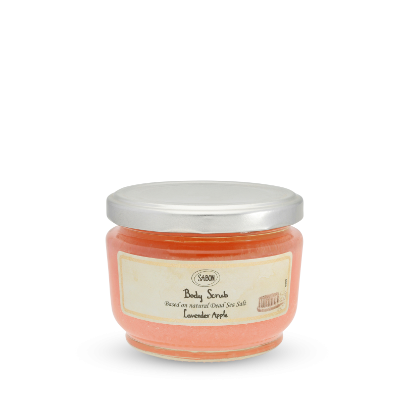 Body Scrub Small - Lavender Apple - Sabon Singapore